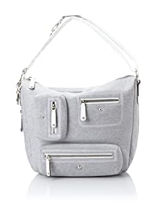 Tod's Women's Multi-Pocket Hobo, Grey