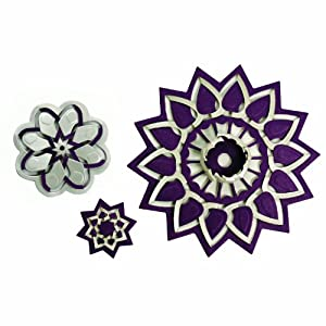 Spellbinders S5-113 Shapeabilities Flower Burst Die Templates