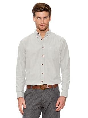 Dockers Camisa Oxford con Botones En Cuello (verde claro)