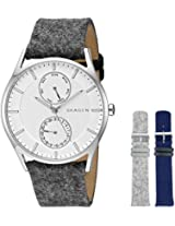 Skagen End-of-season Holst Analog Silver Dial Men's Watch - SKW1060