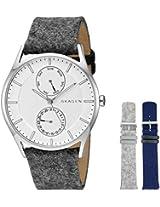 Skagen Holst Analog Silver Dial Men's Watch - SKW1060