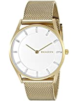 Skagen Chronograph White Dial Women's Watch - SKW2377