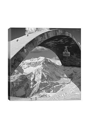 Thomas Barbèy Over The Hill Giclée Canvas Print