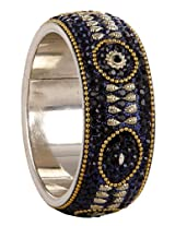 Sharnam Art Navy Blue With Grey Gorgeous Looking Designer Kada For Women - AC_405-2.6