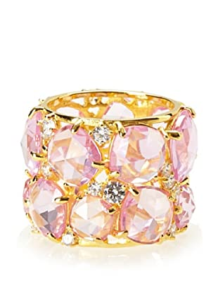 Crislu Pink Candy Couture Ring