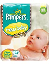 Pampers New Baby Diapers 24 pieces (Up to 5 kg)