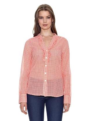 Jackpot Camicia Dafnia (Arancione/Bianco)