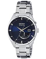 Seiko Dress Analog Blue Dial Men's Watch - SRN047P1