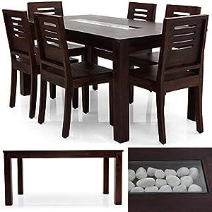 Brighton Dining Table (Mahogany Finish)