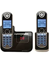 Motorola P1002 DECT 6.0 2-Handset for Cordless Phone