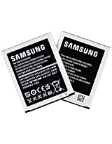 Samsung 2100 mAh Replacement Batteries for Galaxy S3 ATT/Sprint/T-Mobile Models, Pack of 2 - Non-Retail Packaging - Silver