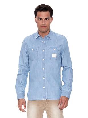 Pepe Jeans London Camisa Zorba (Azul)