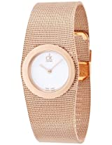 Calvin Klein White Dial Women's Watch - K3T23626