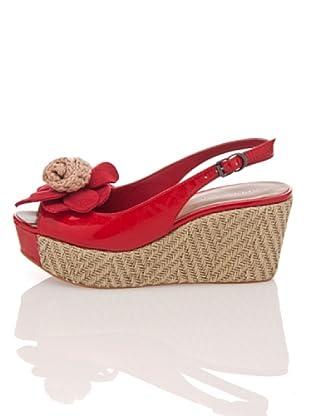 Apepazza Keil-Sandalette Sissy (Rot)