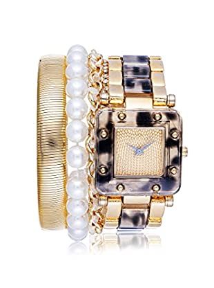 Arm Candy Women's NXS5297G-GY Gray/Gold Stainless Steel/Metal Watch