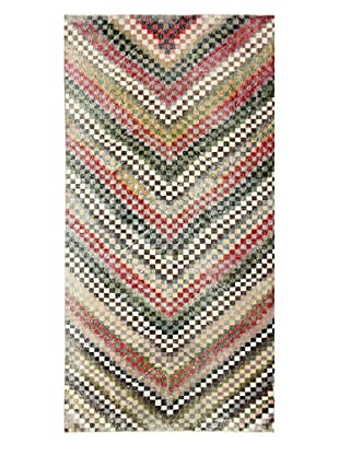 nuLOOM One-of-a-Kind Hand-Knotted Vintage Turkish Overdyed Rug, Multi, 5' 7