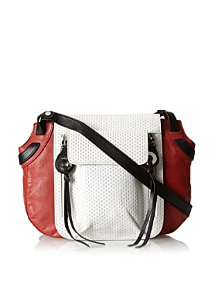 Joelle Hawkens Women's Axis Cross-Body (White Perforated)