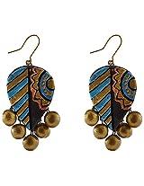 Avarna Terracotta Earrings Erb0001 For Women (Multi-Color )