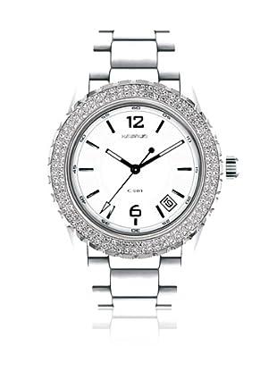 K&Bros  Reloj 9142 (Blanco)