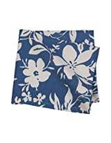 "PO BOX 100% Cotton 1 Napkin Nirmuk Blue- 16""X16"""