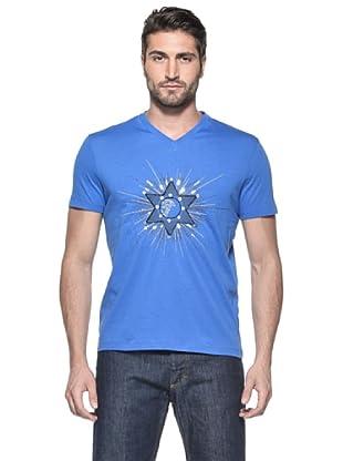 Versace Collection Camiseta Vekoslav (Azul Medio)