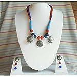 Multi Oxidised Silver Traditional Jewellery Set