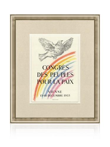 Pablo Picasso Congres des Peuples Pour la Paix, 1959, 16
