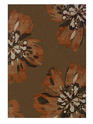 Granville Rugs Adele Rug (Tan/Orange/Black)