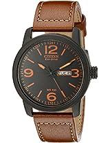 Citizen Eco-Drive Analog Black Dial Men's Watch - BM8475-26E