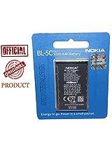 Original Nokia BL-5c 1020 mAH Battery for Nokia 107 101 N 72 X2-01 X2-02 E 50 E60