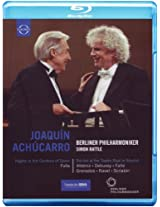 Achucarro & Rattle: Nights in The Gardens of Spain [Blu-ray]