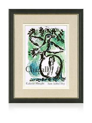 Marc Chagall - L'oiseau vert