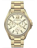 Giordano Analog Gold Dial Women's Watch - 2690-33