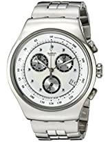 Swatch Irony Analog White Dial Men's Watch - YOS401G