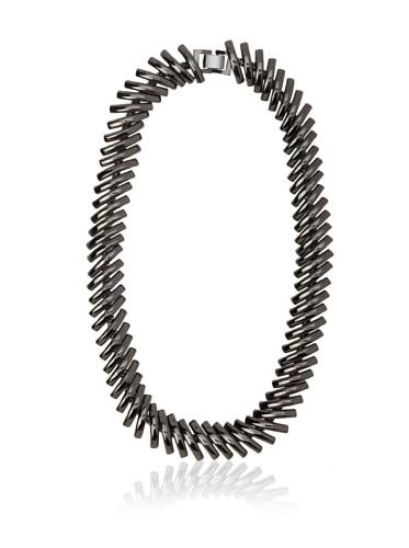 Tuleste Market Macaroni Necklace, Gunmetal