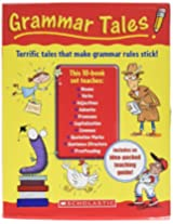 Scholastic 0439458153 Grammar Tales, 120 Page Teaching Guide, For Grades 3 And Up