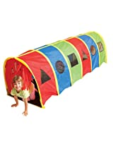 "Pacific Play Tents Tickle Me 9' x 30"" Tunnel Geo Playhouse"