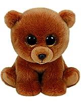 Ty Beanies Brownie Brown Bear Medium By Ty Beanies