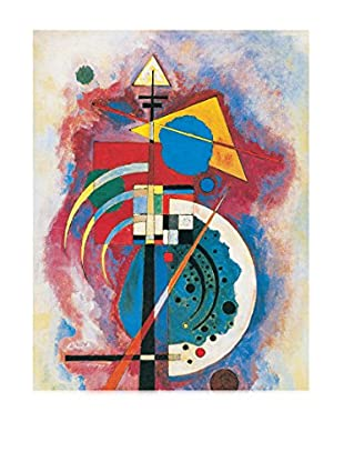 Artopweb Wandbild Kandinsky Omaggio A Grohmann 90x60 cm mehrfarbig