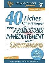 Gramemo - 40 fiches ultra-pratiques pour améliorer immédiatement votre grammaire