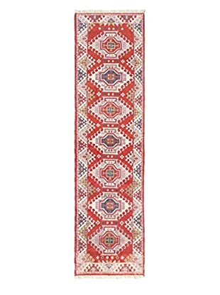 Hand-Knotted Royal Kazak Rug, Copper, 2' 7