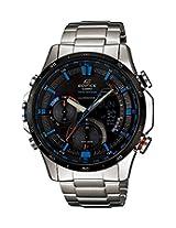 Casio Edifice Analog-Digital Black Dial Men's Watch - ERA-300DB-1A2VDR (EX178)