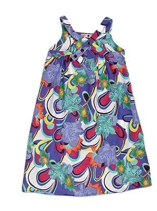 Naf Naf Chevignon Vestido Estampado (Multicolor)