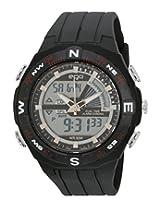Maxima Ego Analog-Digital Black Dial Men's Watch - E-35083PPAN