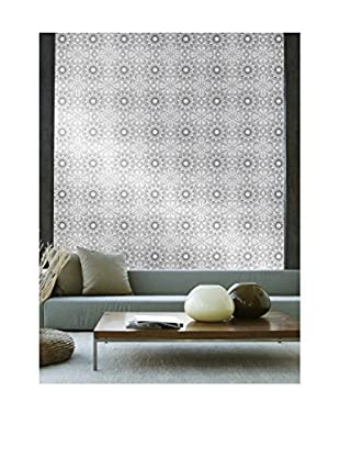 Tempaper Designs Medallion Self-Adhesive Temporary Wallpaper, Platinum, 20.5