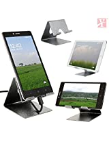YTTM Mobile Phone Metal Stand / Holder for Smartphones and Tablet - Antique Silver
