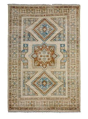 Darya Rugs Oushak Oriental Rug, Ivory, 6' x 4'