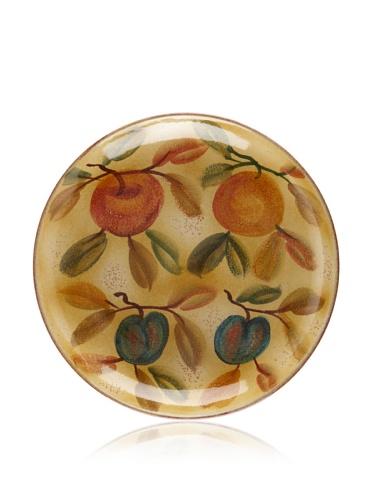 Modigliani Frutta Laccata Round Shallow Bowl, 12.5
