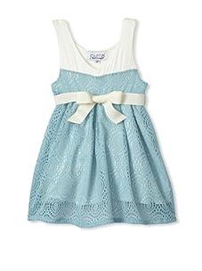 Journal Girl's Crochet Party Dress (Tiffany)