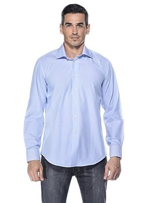 Camicissima Camisa Slim Fit Rayas (Blanco / Azul)